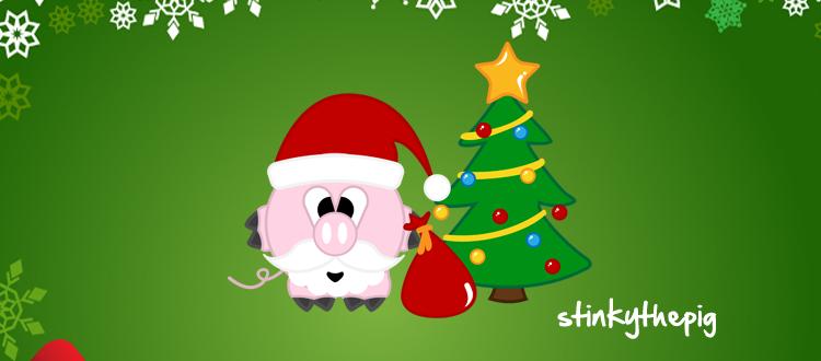 stinky santa Stinkys First Christmas