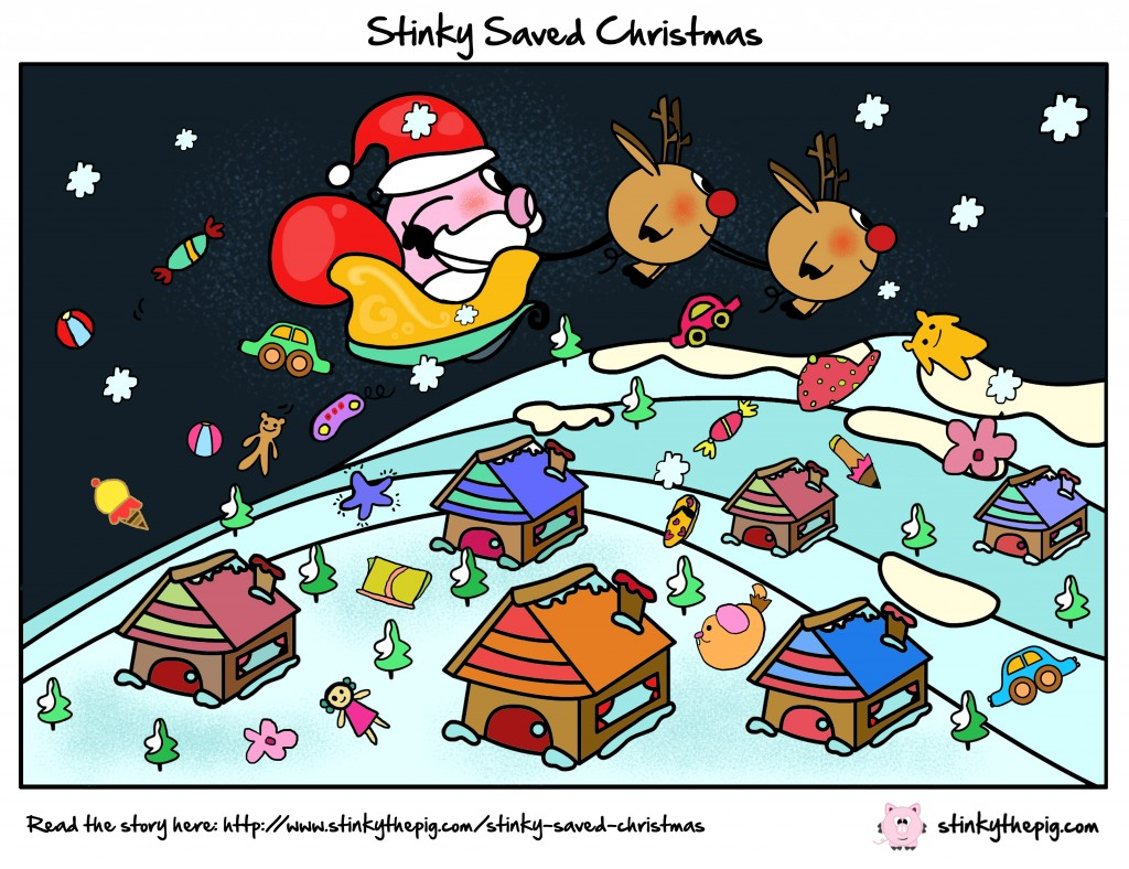 Stinky The Pig Stinky Saved Christmas 1024x788 Stinky Saved Christmas