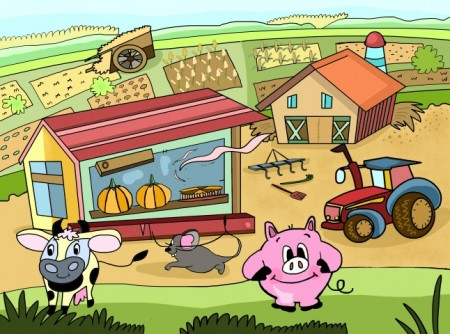 Stinky The Pig Farm old Small 450x334 Its a Rap